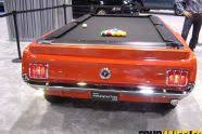 Mustang Pool Table 129 1109 02 2011 Orange County Auto Show Mustang Pool Table