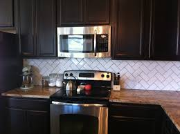 Herringbone Kitchen Backsplash Lovely Herringbone Backsplash Decor Also Diy Home Interior Ideas