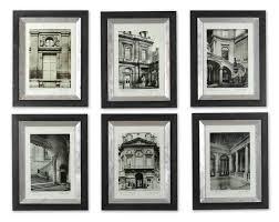 Uttermost Decor Uttermost Paris Scene Framed Art Set 6 Mathis Brothers Furniture