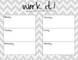 template for daily planner workout calendar printable template cute 2017 calendar printable best photos of workout planner template