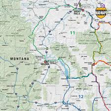 Montana Travel Maps images Idaho montana wyoming scenic road trips jpg