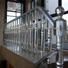 Banister Staircase Crystal Glass Stairs Railings Staircase Designs Indoor U0026 Outdoor