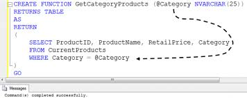 sql server create table syntax sql server insert values of stored procedure in table use table