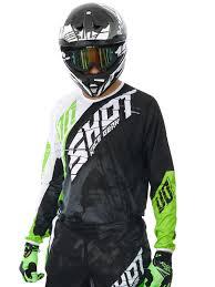 motocross gear sets shot green 2017 devo squad mx jersey shot freestylextreme