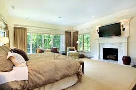 Small Bedroom Fireplace Surround Apartments Likable Bedroom Extraordinary Master Gas Fireplace