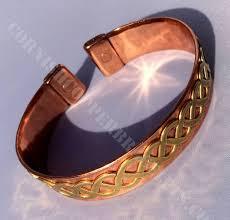 solid copper bracelet images Magnetic copper bracelets magnetic solid copper band with brass jpg
