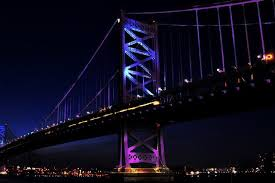 special lights for ben franklin bridge will highlight causes and
