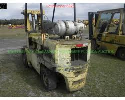 caterpillar vc600 forklift sn 289w00814 6k capc dual fuel