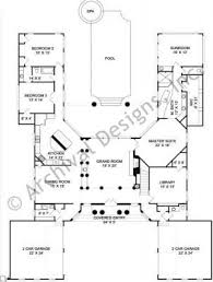 U Shaped House Plans With Courtyard 40 Best U Shaped House Plans Images On Pinterest House Floor