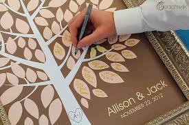 guest sign in books wedding guest book alternative the wishwik tree a peachwik