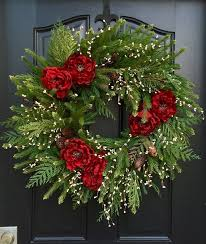 Quick Outdoor Christmas Decorations by Best 25 Christmas Wreaths Ideas On Pinterest Diy Christmas