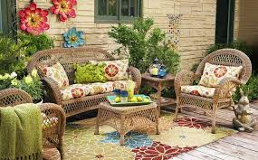 Garden Decor Accessories Wicker In Colors Garden Decor Inspirations By Pier1 Decor Advisor