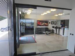 glass walls glass office wall installation patriot glass and mirror san
