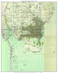 florida topo map st petersburg florida 1945 topo map a composite made