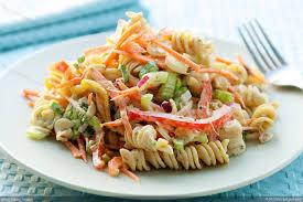 creamy pasta salad recipe low fat creamy pasta salad recipe