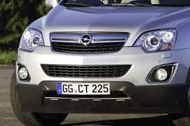 opel antara 2010 2011 opel antara receives minor facelift with renewed engine lineup