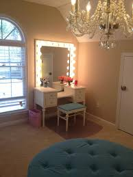 Small Bedroom Vanity by Spare Bedroom Dressing Room Love The Idea Of A Chandelier And