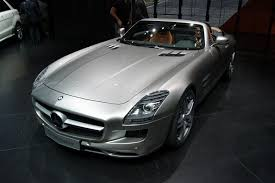 mercedes sls amg roadster for sale at frankfurt motor mercedes sls amg roadster aol uk cars
