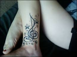 first decent tattoo i u0027ve seen for music staff placement maybe