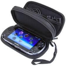 amazon com playstation vita wi butterfox double compartment carry case for ps vita and ps vita