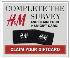survey for gift cards complete the survey and claim your 25 h m gift card free