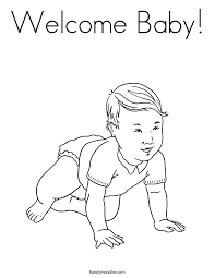 baby coloring 79 additional drawings baby