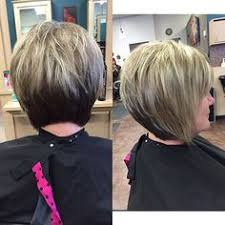 a line shortstack bob hairstyle for women over 50 30 stacked a line bob haircuts you may like haircuts bobs and