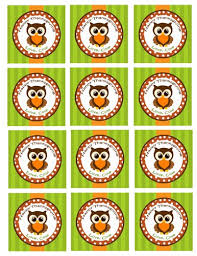 printable thanksgiving treat tags or gift tags or cupcake toppers