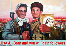 all bran cereal propaganda poster pictures freaking news