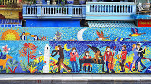 history through pictures the hanoi ceramic mosaic mural zostel this is how the revamped looks now