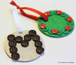 button ornaments with plus a giveaway to stuff your
