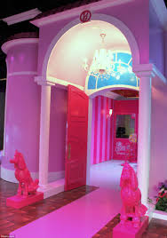 Barbie Home Decoration by World U0027s First Ever Life Size Replica Of Barbie U0027s Dreamhouse Opens
