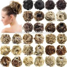 Temporary Hair Extensions For Wedding Hair Bun Fake Hair Bun Fake Suppliers And Manufacturers At