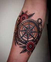 25 unique traditional compass tattoo ideas on pinterest