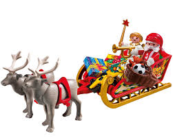 amazon com playmobil santa u0027s sleigh toys u0026 games