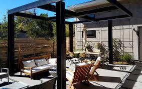 Modern Backyard Ultra Modern Backyard Outdoor Living Area Highlands Mile High