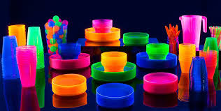 Glow In The Dark Party Decorations Ideas Black Light Party Supplies