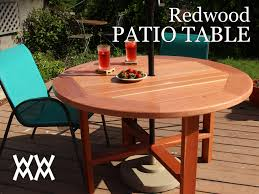 make a patio table woodworking for mere mortals