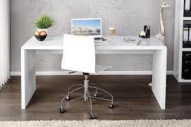 White High Gloss Office Desk Enzo White High Gloss Computer Office Desk Furniturebox