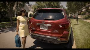 nissan pathfinder fuel consumption 2018 nissan pathfinder rear door alert youtube