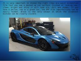 which clear bra paint protection film is the best