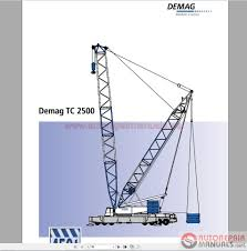 terex demag tc2500 450t shop manual auto repair manual forum