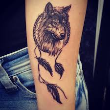 50 a powerful style statement with wolf tattoos ideas