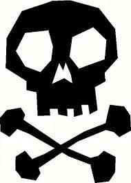 custom vinyl lettering skull u0026 crossbones 1 vinyl decal the