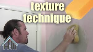 how to texture wall apply texture swirl easy home mender youtube