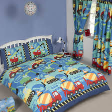 construction time building site diggers duvet covers u2013 twin