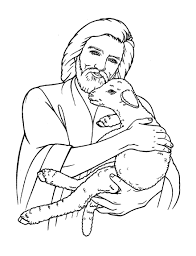 coloring page of jesus free christian coloring pages for young and old children level 2