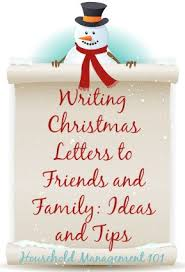 writing christmas letters to friends u0026 family ideas u0026 tips