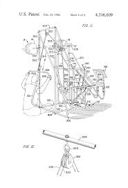 patent us4316609 bench mounted weight lifting exerciser google