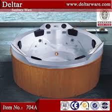 deltar 6 person big size bathtub wooden bathtub price luxury